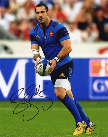 Scott Spedding, France, Clermont Auvergne, signed 10x8 inch photo.